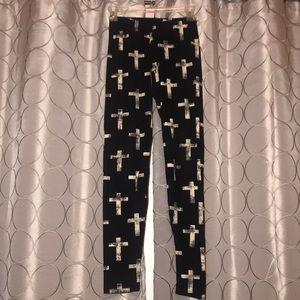 HOT KISS Cross leggings